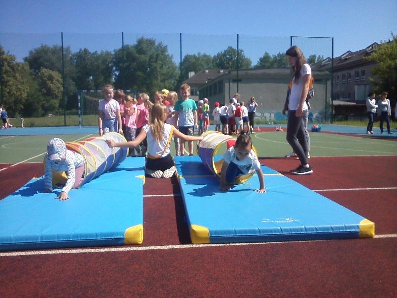 Festyn sportowy dla przedszkolaków 1