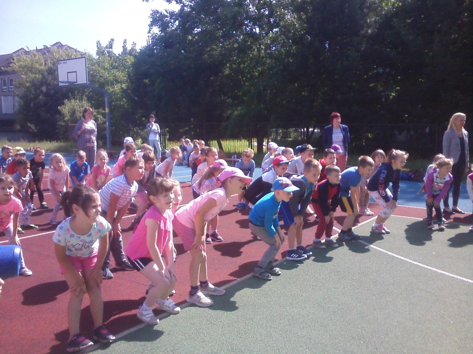 Festyn sportowy dla przedszkolaków 6